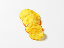Crunchy potato chips Royalty Free Stock Photos