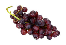Crunchy Red Grapes Top View Royalty Free Stock Images