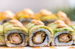 Crunchy Sushi Royalty Free Stock Photos