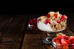 Crunchy Yoghurt Royalty Free Stock Photography
