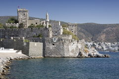Crusader castle Stock Photo