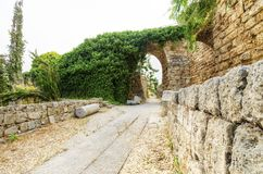 Crusader castle, Byblos, Lebanon Royalty Free Stock Photos