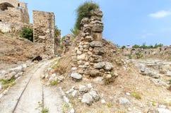 Crusader castle, Byblos, Lebanon Stock Image
