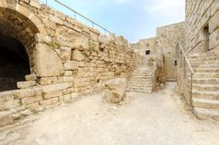Crusader castle, Byblos, Lebanon Royalty Free Stock Photo