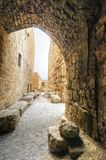 Crusader castle, Byblos, Lebanon Royalty Free Stock Image