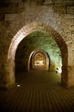 Crusader Knights Halls of Akko Royalty Free Stock Image