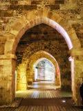Crusader Knights Halls of Akko royalty free stock photography