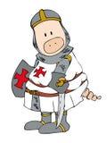 Crusader Pig. Stock Image