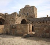 Crusader Sea Castle, Sidon-Lebanon Stock Photos
