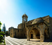 The Crusades-era Church of St. John-Mark, Byblos, Lebanon Royalty Free Stock Photography