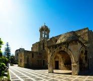The Crusades-era Church of St. John-Mark, Byblos, Lebanon royalty free stock photography
