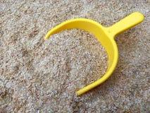 Crusca di frumento Fotografia Stock