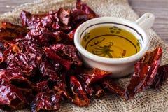 Cruschi peppers Stock Photo