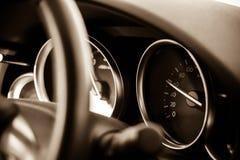 Cruscotto dell'automobile Fotografia Stock