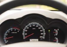 Cruscotto dell'automobile Fotografia Stock Libera da Diritti