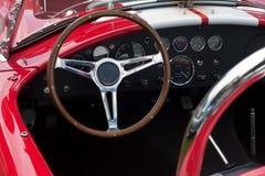 Cruscotto di un'automobile sportiva Fotografia Stock Libera da Diritti
