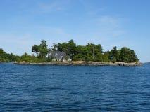 Cruse nelle isole del ` s mille del Canada Fotografie Stock Libere da Diritti