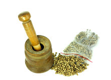 Crush spices tool Royalty Free Stock Photo