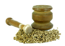 Crush spices tool Stock Photos