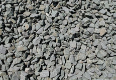 Crushed basalt Royalty Free Stock Images