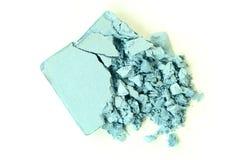 Crushed Blue Eyeshadow Stock Images