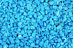 Crushed blue texture Stock Photography
