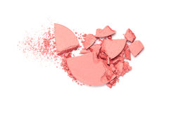 Crushed Blush Palette Royalty Free Stock Image