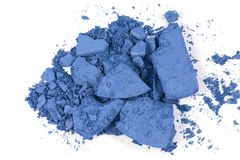 Crushed blushon. Makeup for fashion and beauty magazines stock photos