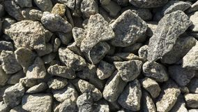 Crushed broken stone breakstone texture and background stock images