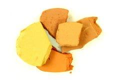 Crushed Brown Eyeshadow Stock Photo