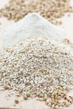 Crushed Buckwheat. Gluten free food royalty free stock images