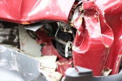 Crushed car Royalty Free Stock Photos