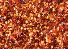 Crushed chili pepper - prime lens macro, excellent. Crushed chili pepper - prime lens macro shot Stock Images