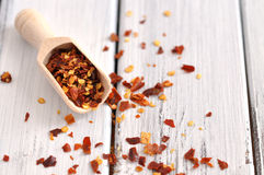 Crushed Chilli Pepper Royalty Free Stock Photography