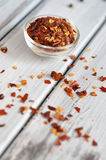Crushed Chilli Pepper Royalty Free Stock Images