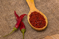 Crushed chilli Stock Images