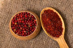Crushed chilli Royalty Free Stock Photos