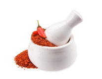Crushed Chillies Stock Images