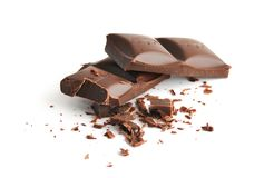 Crushed chocolate Stock Images