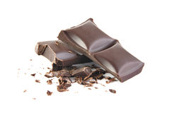 Crushed chocolate Royalty Free Stock Image