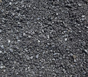 Crushed Coal Stock Photo