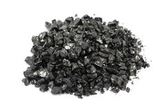 Crushed coal Royalty Free Stock Photography