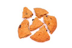 Crushed cookies Stock Photography