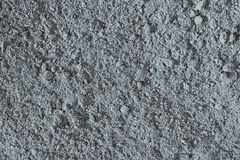 The crushed earth of silvery color Stock Photography