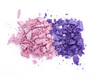 Crushed eye shadow Royalty Free Stock Image