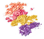 Crushed eye shadow Royalty Free Stock Photo