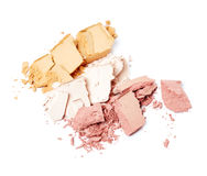 Crushed eye shadow Royalty Free Stock Images