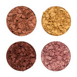 Crushed eye shadows Stock Images