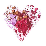 Crushed eyeshadow Stock Image
