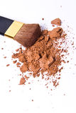 Crushed eyeshadow Royalty Free Stock Photography
